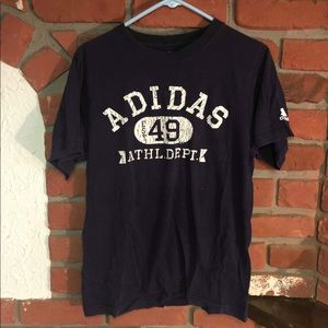 Adidas Department Black Basic Men's T Tee Shirt